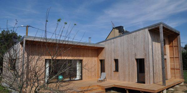 Maison ossature bois Nivillac